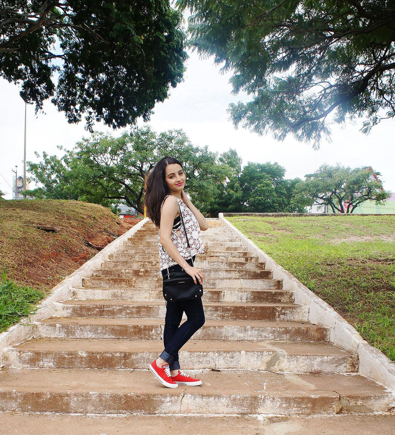 Look Verão Calça Jeans