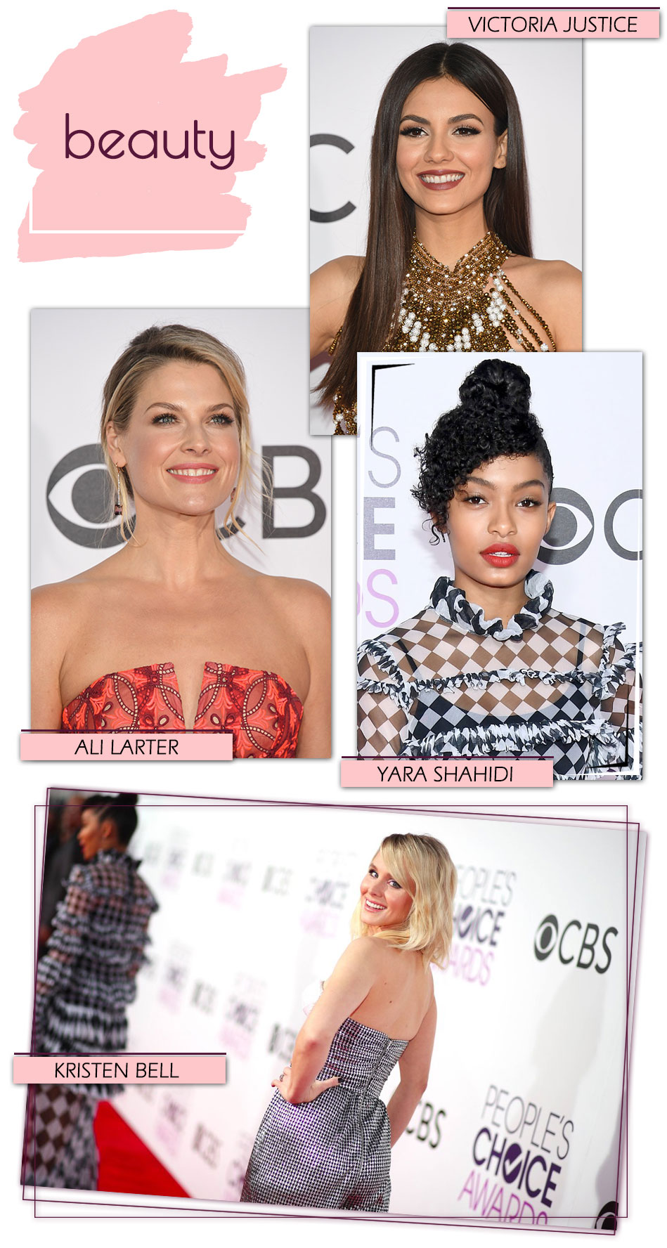 People Choice Awards 2017 Beauty